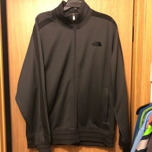 The north face Men's zip-up